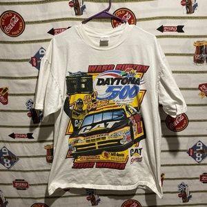 Vintage Daytona 500 Ward Burton NASCAR Shirt Sz XL